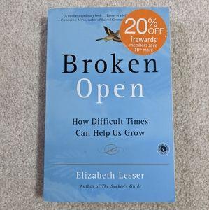 """(2/$15) GUC """"Broken Open"""" Book"""